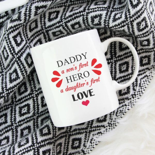 Daughter's First Love Dad Coffee Mug